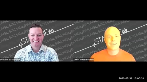 Thumbnail for entry StatlineTV Hosts a Town Hall   March 31, 2020
