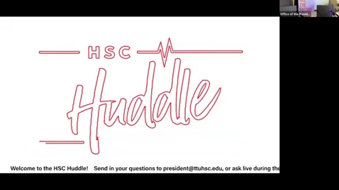 Thumbnail for entry HSC Huddle August 2021