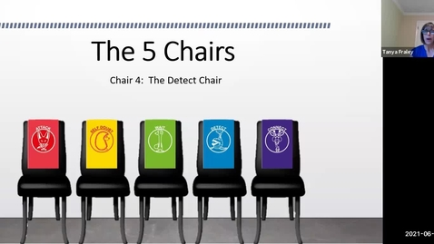 Thumbnail for entry 2021 June 24  The 5 Chairs -  Chair 4: The Detect Chair (the Dolphin Chair)