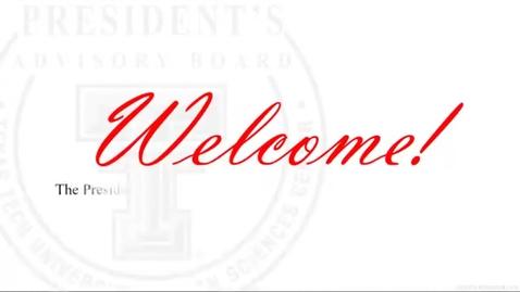 Thumbnail for entry President's Advisory Board Meeting January 2021