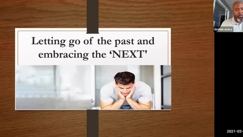 Thumbnail for entry Letting go your past and embracing the NEXT