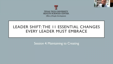 Thumbnail for entry 2021 01 20 Leadershift Session 4