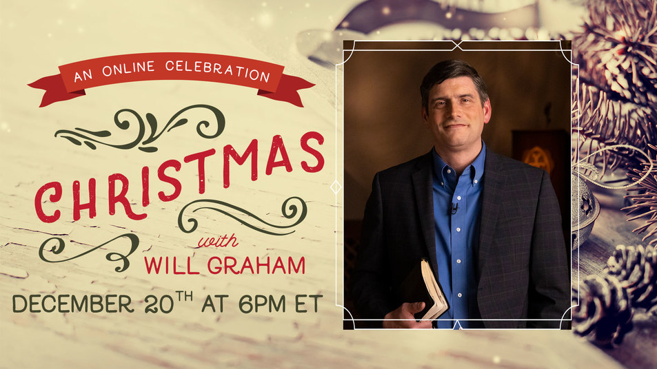 Billy Graham's Grandson Will Graham to Host Online Christmas Evangelistic Outreach