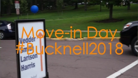 Thumbnail for entry Class of 2018 Move-in Day