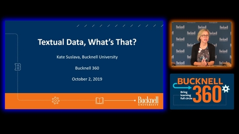 Thumbnail for entry BU360 Textual Data Whats That