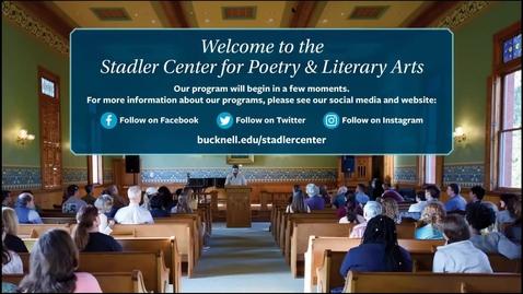 Thumbnail for entry 2020-09-15-Stadler-Center-O'Connor