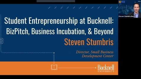Thumbnail for entry Bucknell 360 - Student Entrepreneurship at Bucknell