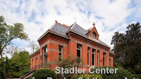 Thumbnail for entry 2020-02-06 Stadler Center Q & A - Laura Kasischke
