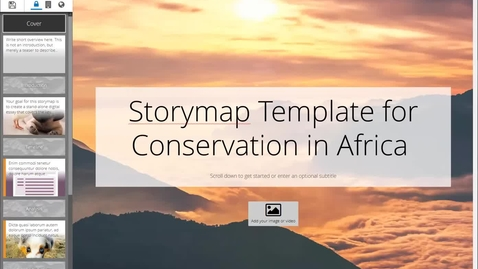 Thumbnail for entry (06) Storymap Series: How to embed your Timeline JS timeline into your storymap