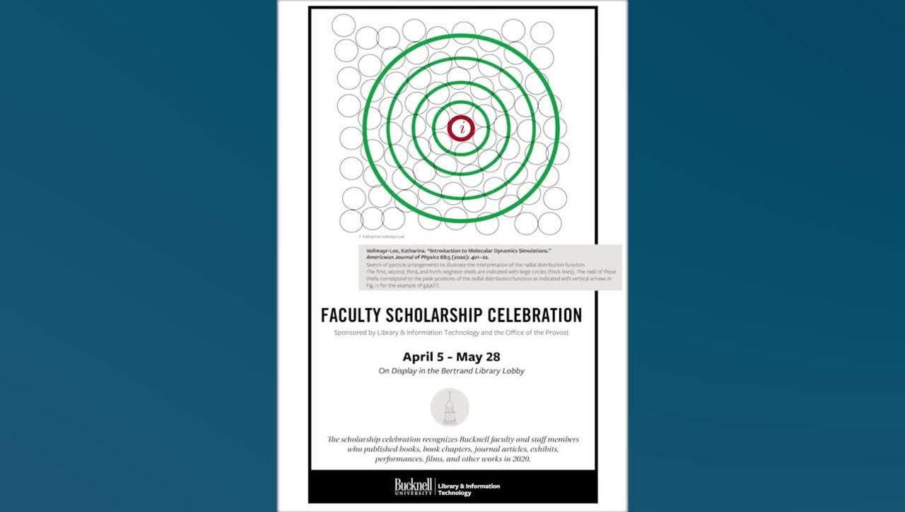 2021 Faculty Scholarship Celebration Video