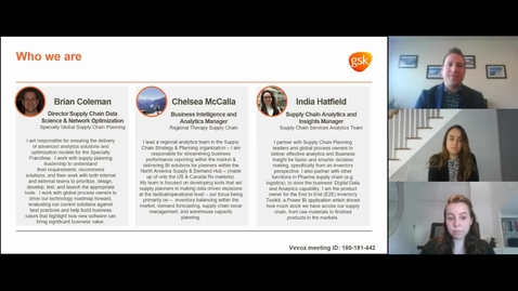 Thumbnail for entry Digital, Data, and Analytics Careers - Brian Coleman, Chelsea McCalla, and India Hatfield, GSK, 04/23/2021