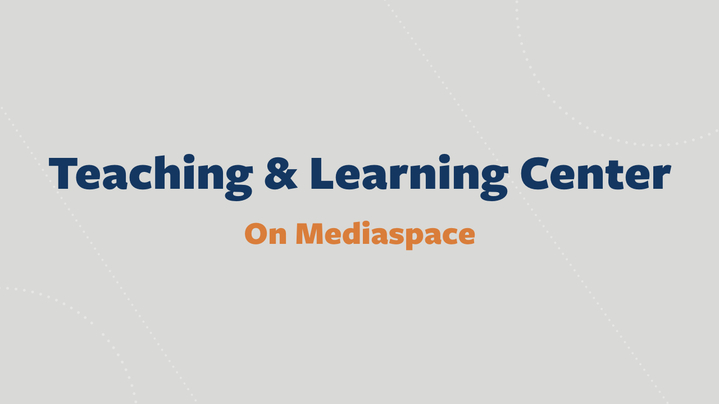 Thumbnail for channel Teaching and Learning @ BU