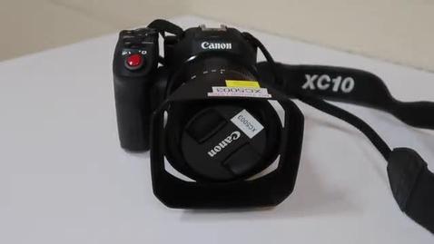 Thumbnail for entry DPS Demos - Canon XC10