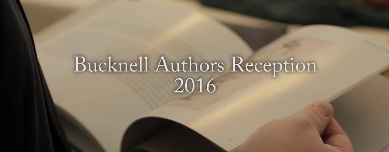 Bucknell Authors Reception 2016