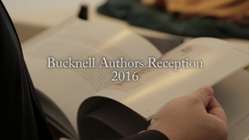 Thumbnail for entry Bucknell Authors Reception 2016