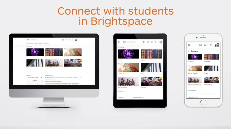 Brightspace for Instructors – Engaging students featured image