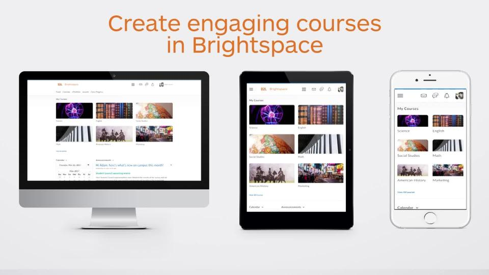 Brightspace for Instructors – Creating content featured image