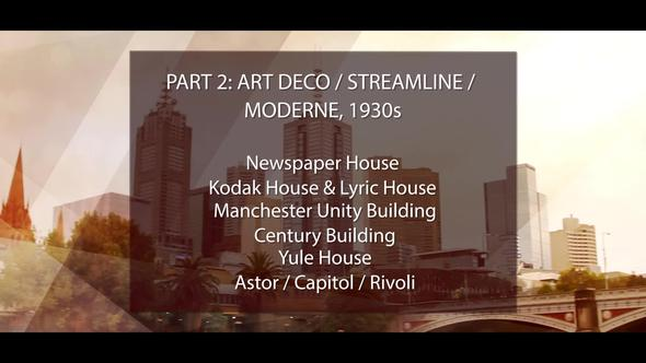 Art deco and moderne architectural styles of america and europe
