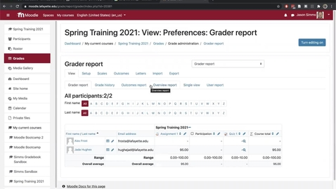 Thumbnail for entry Grading workflows in Moodle