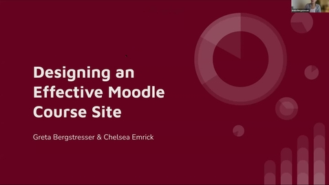 Thumbnail for entry Moodle Course Design