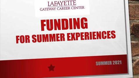 Thumbnail for entry Summer Internship Stipend Tutorial Webshop