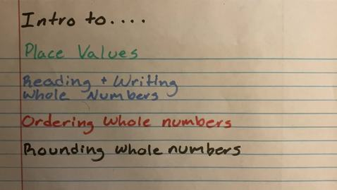 Thumbnail for entry Multiplication Properties & Exponents Video