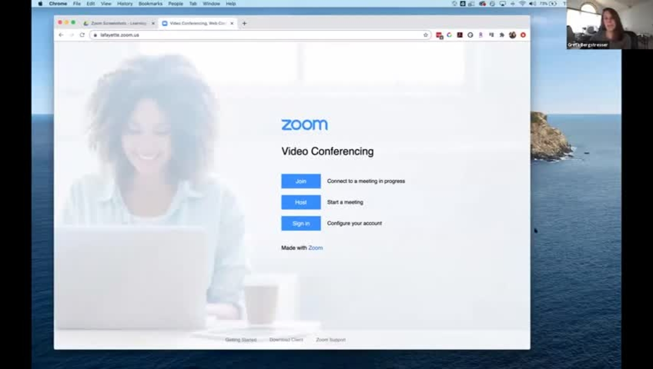 Advanced Web Conferencing with Zoom