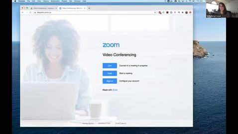 Thumbnail for entry Advanced Web Conferencing with Zoom