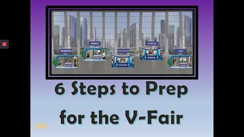 Thumbnail for entry 6 Steps to Prep for V-Fair
