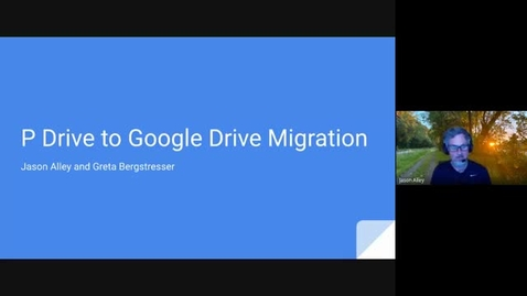 Thumbnail for entry P Drive Migration Information Session