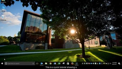 Thumbnail for entry Extended Desktop Tutorial