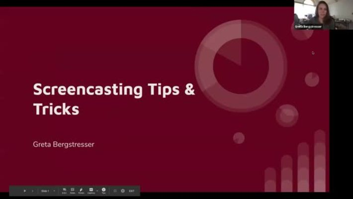 Screencasting Tips and Tricks