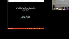 Thumbnail for entry CELT18 Donna Lanclos