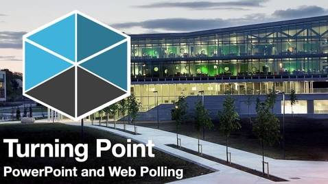 Thumbnail for entry Turning Point polling software training session