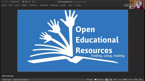 Thumbnail for entry Open Educational Resources: Finding, Using and Making