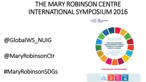 Thumbnail for entry Mary Robinson Centre Symposium Plenary Session I