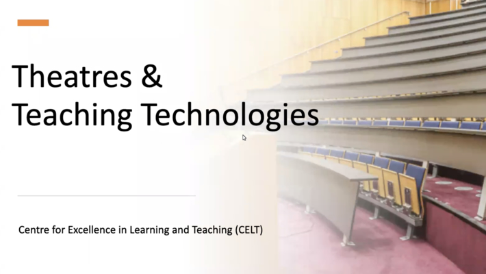 Theatres and Teaching Technologies