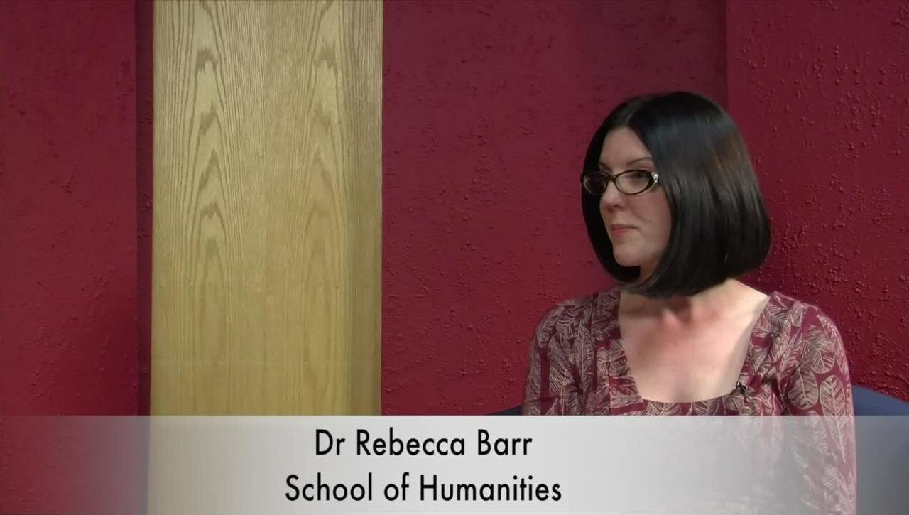 An interview with Dr. Rebecca Barr