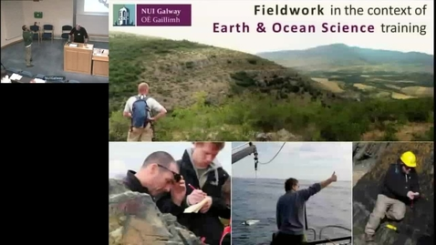 Thumbnail for entry Fieldwork in the context of Earth & Ocean Science Training