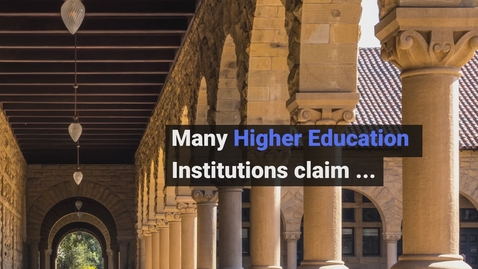 Thumbnail for entry Creativity and Innovation in Higher Education