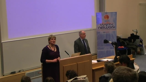Thumbnail for entry Introductory speeches - NUIG Development Education Day 2013