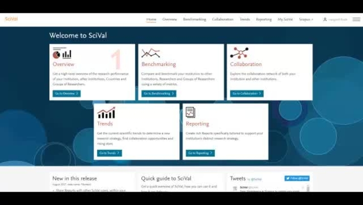 1. SciVal Overview