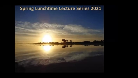 Thumbnail for entry Spring Lunchtime Series 2021 Nessa Cronin