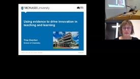 Thumbnail for entry Prof. Tina Overton (Monash University)