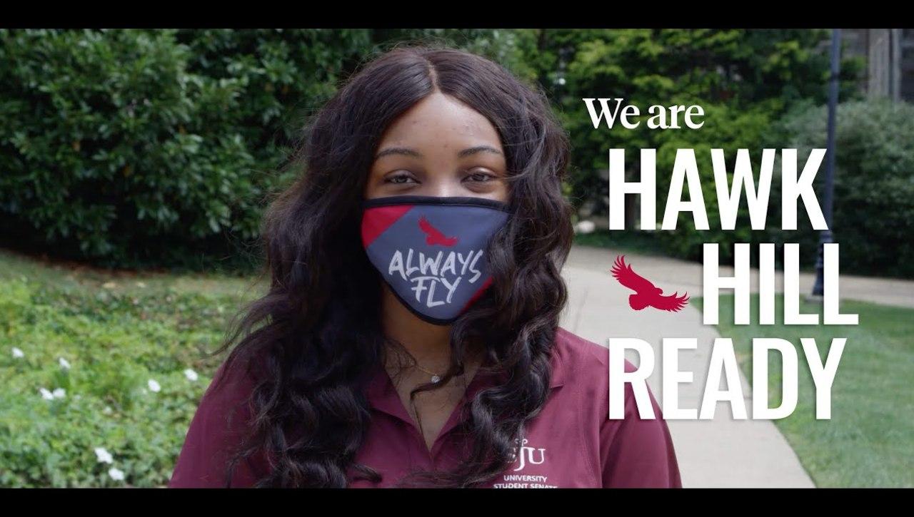 Saint Joseph's University is Hawk Hill Ready