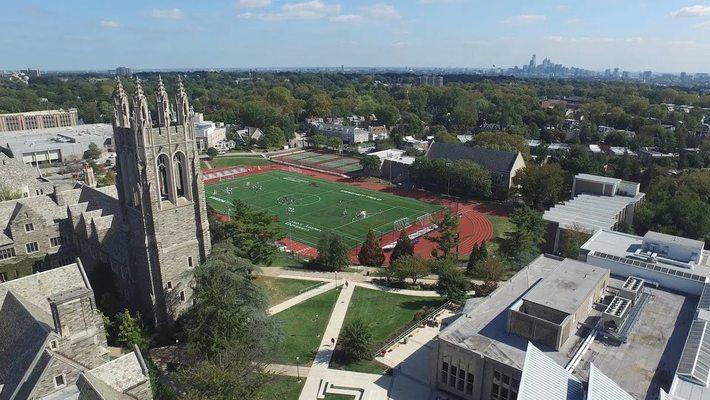 Saint Joseph's University Aerial Campus Montage