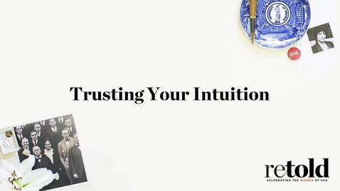 Thumbnail for entry Trusting Your Intuition: A Conversation with Nancy Twine (McIntire '07)