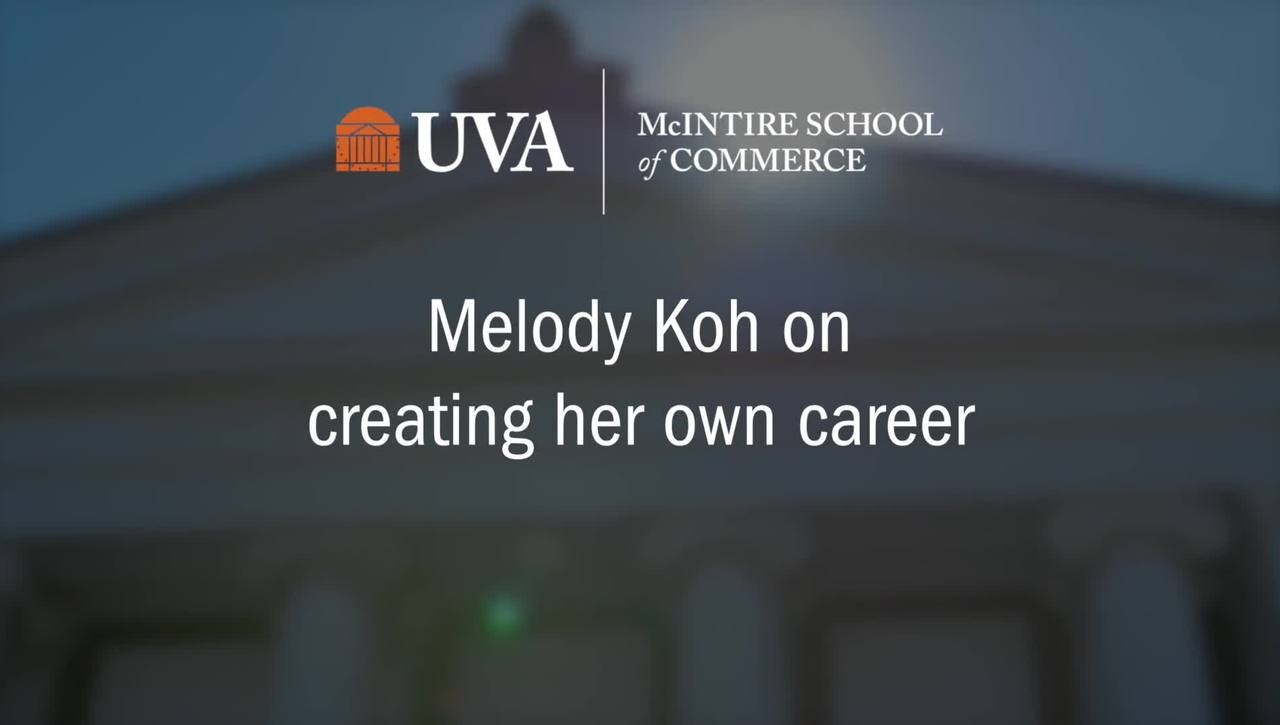 Melody Koh on Her Career