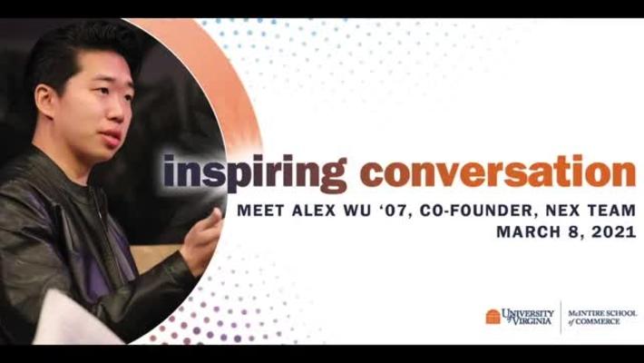 Meet Alex Wu '07, Founding Team, NEX Team