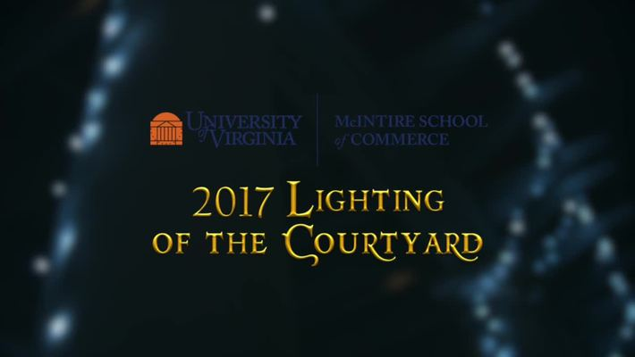 Lighting of the Courtyard 2017